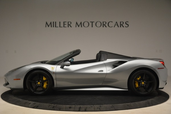Used 2018 Ferrari 488 Spider for sale $274,900 at Rolls-Royce Motor Cars Greenwich in Greenwich CT 06830 3