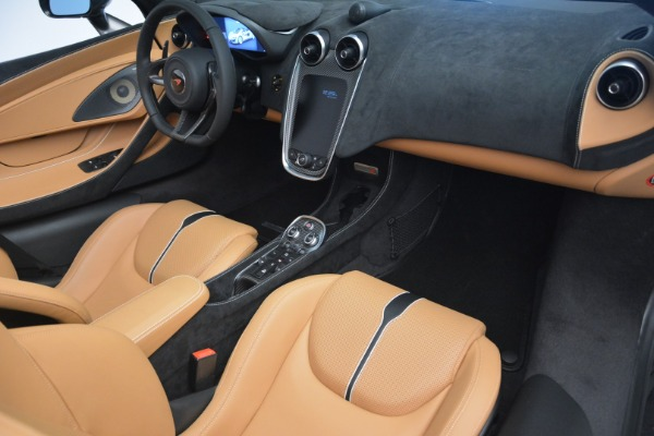 Used 2018 McLaren 570S Spider for sale Sold at Rolls-Royce Motor Cars Greenwich in Greenwich CT 06830 26