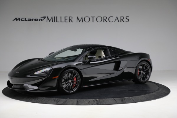 New 2018 McLaren 570S Spider for sale Sold at Rolls-Royce Motor Cars Greenwich in Greenwich CT 06830 14