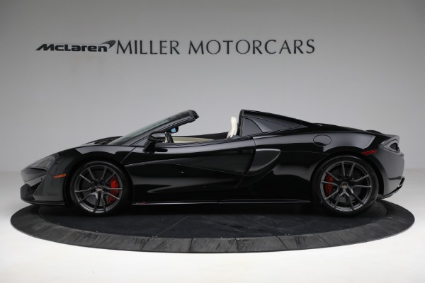 Used 2018 McLaren 570S Spider for sale Sold at Rolls-Royce Motor Cars Greenwich in Greenwich CT 06830 3