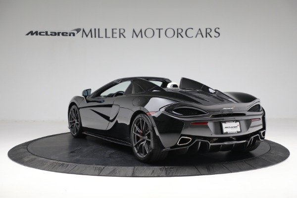 Used 2018 McLaren 570S Spider for sale Sold at Rolls-Royce Motor Cars Greenwich in Greenwich CT 06830 5