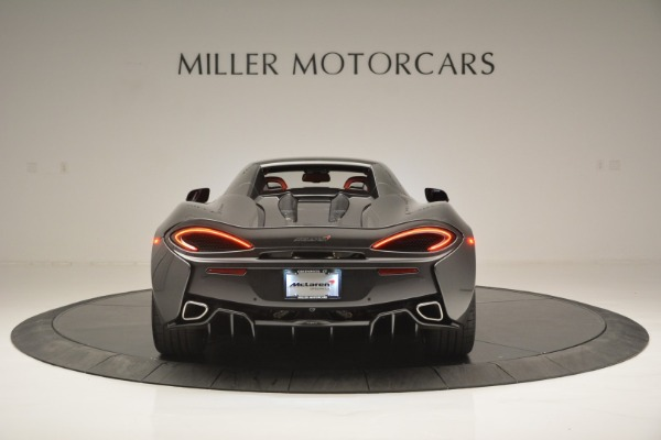 New 2018 McLaren 570S Spider for sale Sold at Rolls-Royce Motor Cars Greenwich in Greenwich CT 06830 18