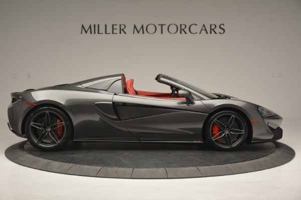New 2018 McLaren 570S Spider for sale Sold at Rolls-Royce Motor Cars Greenwich in Greenwich CT 06830 9