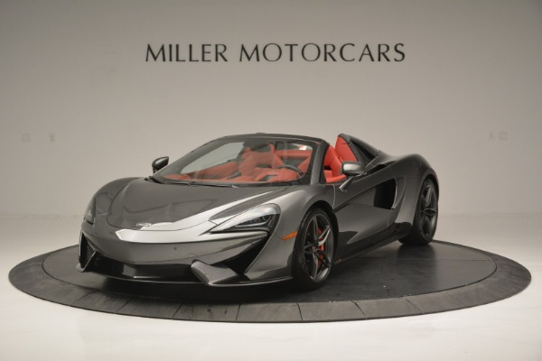 New 2018 McLaren 570S Spider for sale Sold at Rolls-Royce Motor Cars Greenwich in Greenwich CT 06830 1