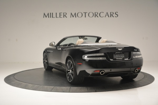 Used 2015 Aston Martin DB9 Volante for sale Sold at Rolls-Royce Motor Cars Greenwich in Greenwich CT 06830 5