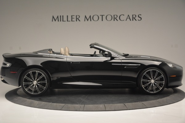 Used 2015 Aston Martin DB9 Volante for sale Sold at Rolls-Royce Motor Cars Greenwich in Greenwich CT 06830 9
