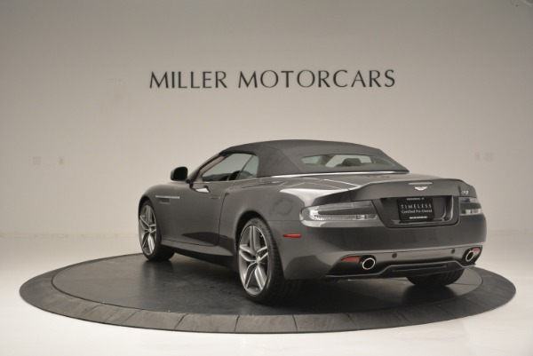 Used 2014 Aston Martin DB9 Volante for sale Sold at Rolls-Royce Motor Cars Greenwich in Greenwich CT 06830 17