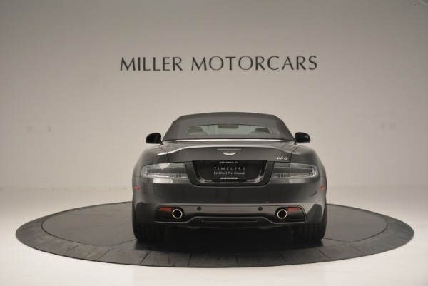 Used 2014 Aston Martin DB9 Volante for sale Sold at Rolls-Royce Motor Cars Greenwich in Greenwich CT 06830 18