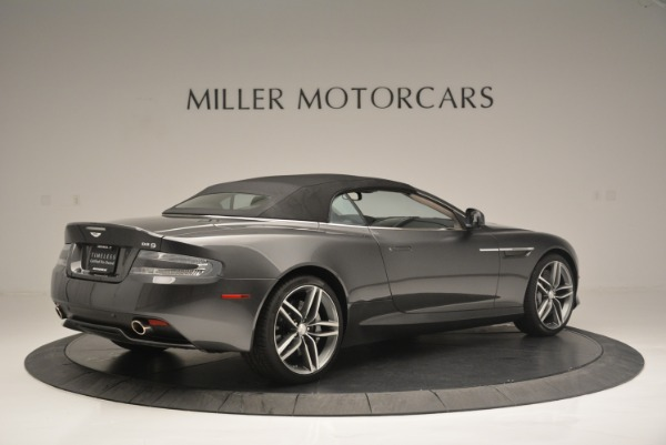 Used 2014 Aston Martin DB9 Volante for sale Sold at Rolls-Royce Motor Cars Greenwich in Greenwich CT 06830 20