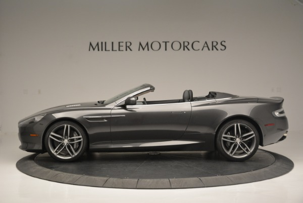 Used 2014 Aston Martin DB9 Volante for sale Sold at Rolls-Royce Motor Cars Greenwich in Greenwich CT 06830 3