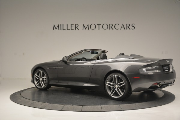 Used 2014 Aston Martin DB9 Volante for sale Sold at Rolls-Royce Motor Cars Greenwich in Greenwich CT 06830 4