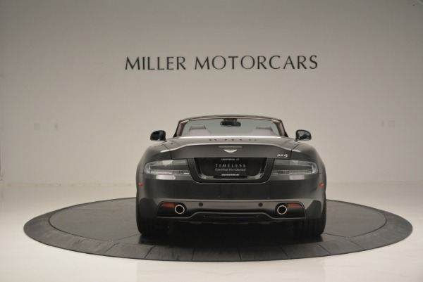 Used 2014 Aston Martin DB9 Volante for sale Sold at Rolls-Royce Motor Cars Greenwich in Greenwich CT 06830 6