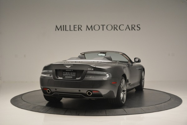 Used 2014 Aston Martin DB9 Volante for sale Sold at Rolls-Royce Motor Cars Greenwich in Greenwich CT 06830 7