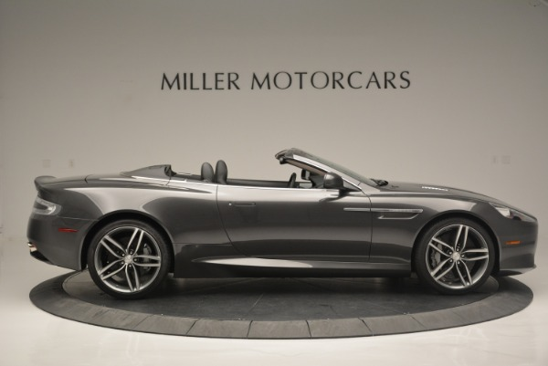Used 2014 Aston Martin DB9 Volante for sale Sold at Rolls-Royce Motor Cars Greenwich in Greenwich CT 06830 9