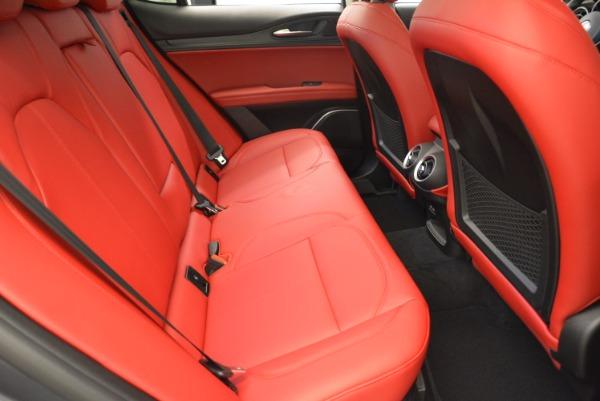 New 2018 Alfa Romeo Stelvio Ti Q4 for sale Sold at Rolls-Royce Motor Cars Greenwich in Greenwich CT 06830 20