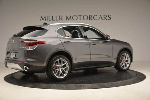 New 2018 Alfa Romeo Stelvio Ti Q4 for sale Sold at Rolls-Royce Motor Cars Greenwich in Greenwich CT 06830 8