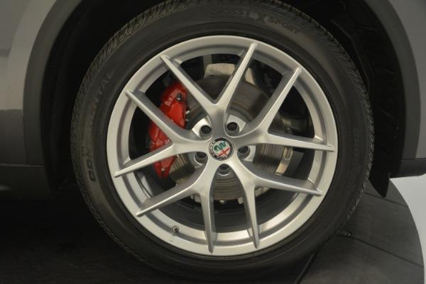 New 2018 Alfa Romeo Stelvio Ti Sport Q4 for sale Sold at Rolls-Royce Motor Cars Greenwich in Greenwich CT 06830 25