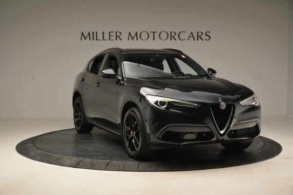 New 2018 Alfa Romeo Stelvio Ti Sport Q4 for sale Sold at Rolls-Royce Motor Cars Greenwich in Greenwich CT 06830 11