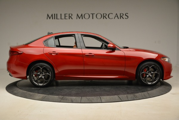New 2018 Alfa Romeo Giulia Ti Sport Q4 for sale Sold at Rolls-Royce Motor Cars Greenwich in Greenwich CT 06830 9