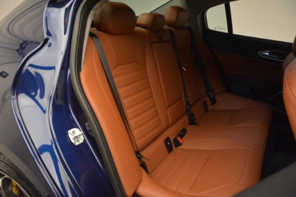 New 2018 Alfa Romeo Giulia Ti Sport Q4 for sale Sold at Rolls-Royce Motor Cars Greenwich in Greenwich CT 06830 22