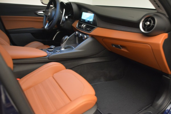 New 2018 Alfa Romeo Giulia Ti Sport Q4 for sale Sold at Rolls-Royce Motor Cars Greenwich in Greenwich CT 06830 23