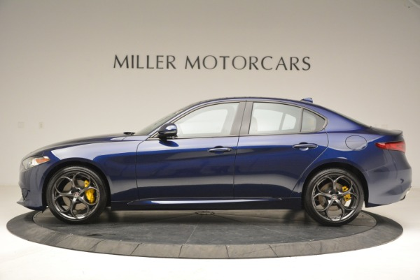 New 2018 Alfa Romeo Giulia Ti Sport Q4 for sale Sold at Rolls-Royce Motor Cars Greenwich in Greenwich CT 06830 3