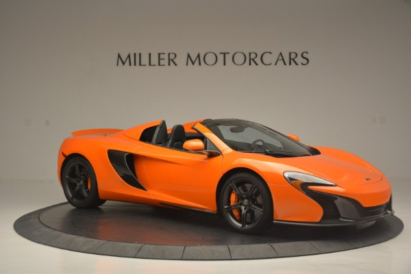 Used 2015 McLaren 650S Spider for sale Sold at Rolls-Royce Motor Cars Greenwich in Greenwich CT 06830 10