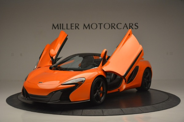 Used 2015 McLaren 650S Spider for sale Sold at Rolls-Royce Motor Cars Greenwich in Greenwich CT 06830 14