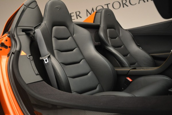 Used 2015 McLaren 650S Spider for sale Sold at Rolls-Royce Motor Cars Greenwich in Greenwich CT 06830 27