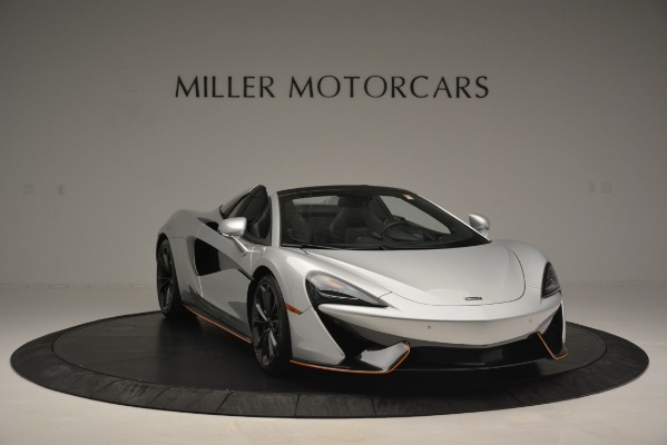 Used 2018 McLaren 570S Spider for sale Sold at Rolls-Royce Motor Cars Greenwich in Greenwich CT 06830 11