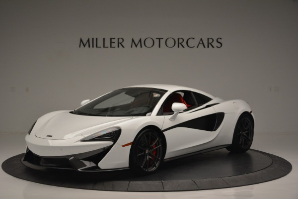 Used 2018 McLaren 570S Spider for sale Sold at Rolls-Royce Motor Cars Greenwich in Greenwich CT 06830 14