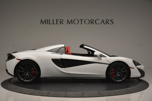 Used 2018 McLaren 570S Spider for sale Sold at Rolls-Royce Motor Cars Greenwich in Greenwich CT 06830 9