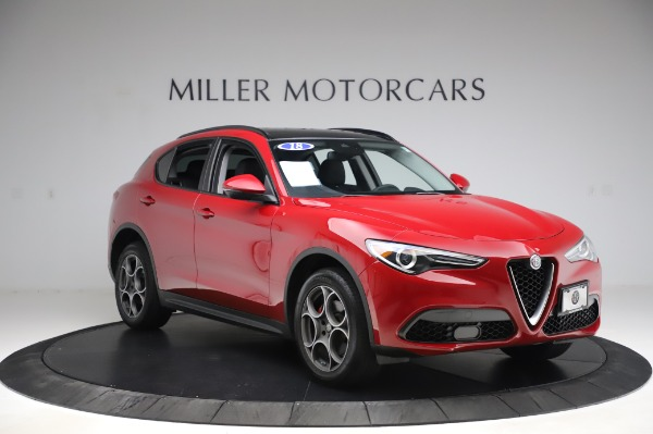 Used 2018 Alfa Romeo Stelvio Sport Q4 for sale $35,900 at Rolls-Royce Motor Cars Greenwich in Greenwich CT 06830 11