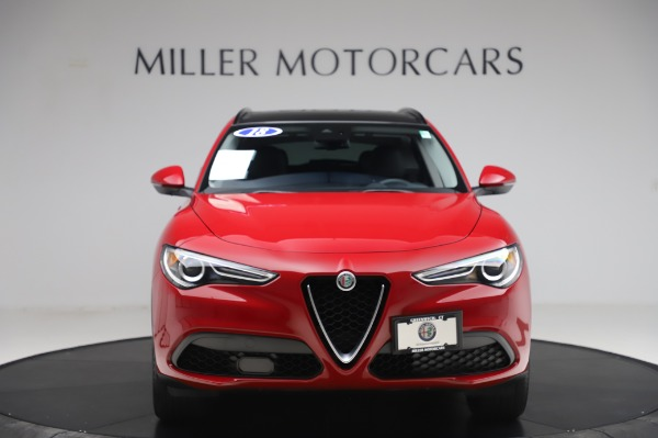 Used 2018 Alfa Romeo Stelvio Sport Q4 for sale $35,900 at Rolls-Royce Motor Cars Greenwich in Greenwich CT 06830 12