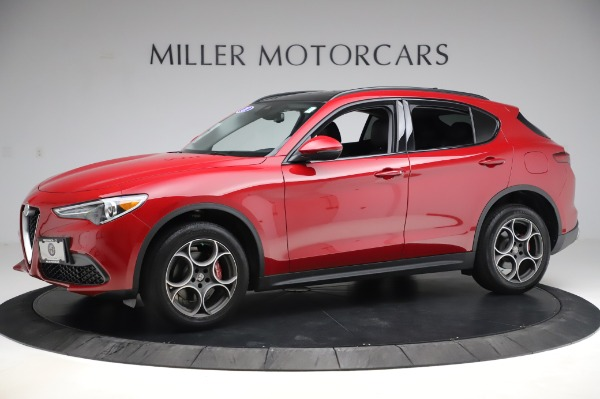 Used 2018 Alfa Romeo Stelvio Sport Q4 for sale $35,900 at Rolls-Royce Motor Cars Greenwich in Greenwich CT 06830 2