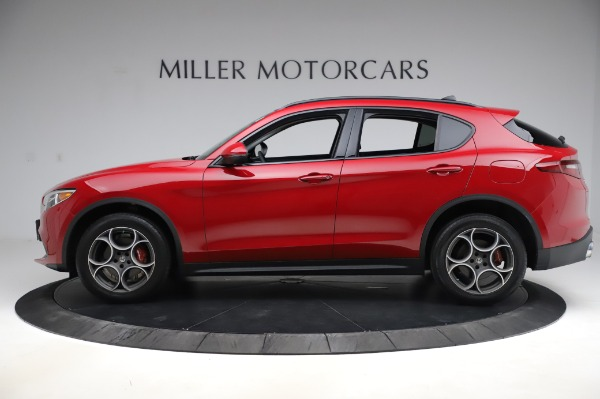 Used 2018 Alfa Romeo Stelvio Sport Q4 for sale $35,900 at Rolls-Royce Motor Cars Greenwich in Greenwich CT 06830 3