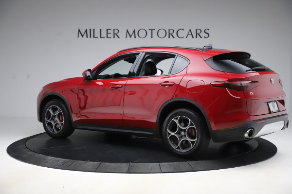Used 2018 Alfa Romeo Stelvio Sport Q4 for sale $35,900 at Rolls-Royce Motor Cars Greenwich in Greenwich CT 06830 4