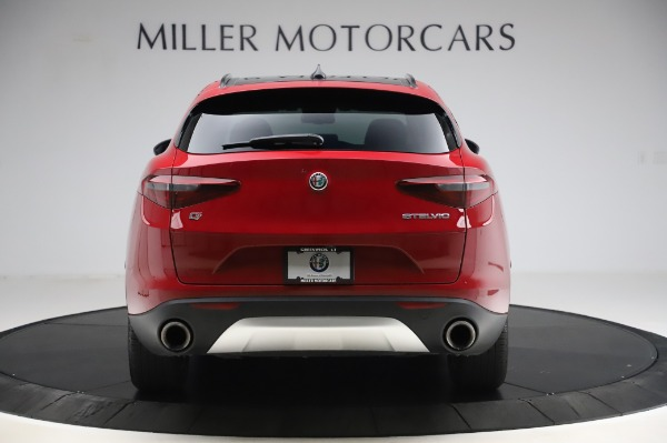 Used 2018 Alfa Romeo Stelvio Sport Q4 for sale $35,900 at Rolls-Royce Motor Cars Greenwich in Greenwich CT 06830 6