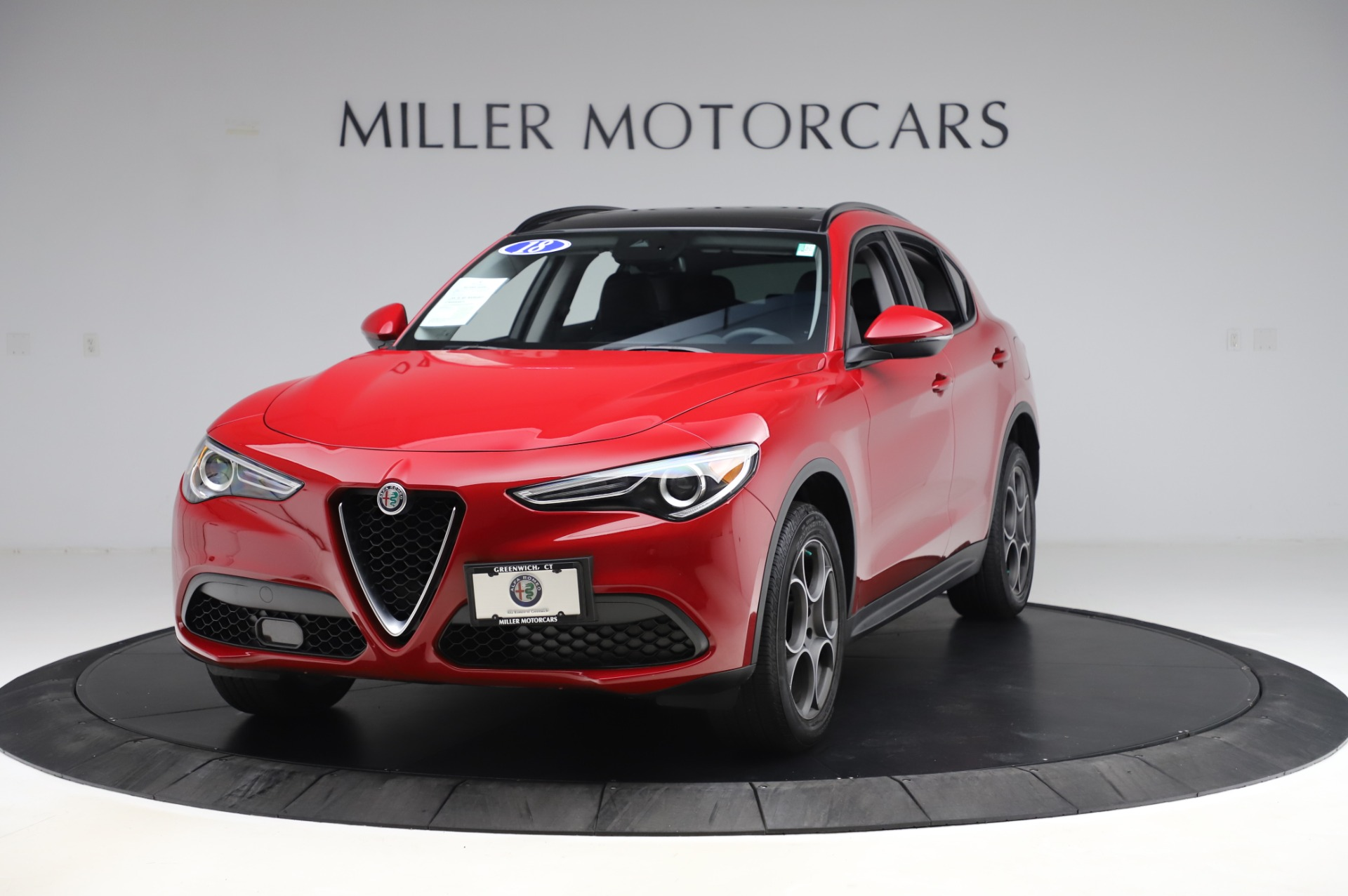 Used 2018 Alfa Romeo Stelvio Sport Q4 for sale $35,900 at Rolls-Royce Motor Cars Greenwich in Greenwich CT 06830 1