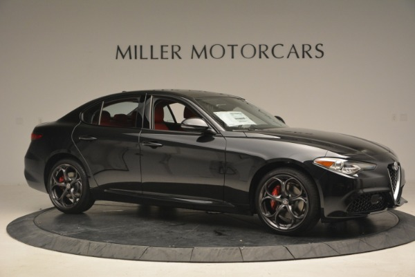 New 2018 Alfa Romeo Giulia Ti Sport Q4 for sale Sold at Rolls-Royce Motor Cars Greenwich in Greenwich CT 06830 10