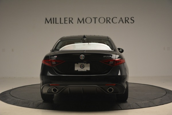 New 2018 Alfa Romeo Giulia Ti Sport Q4 for sale Sold at Rolls-Royce Motor Cars Greenwich in Greenwich CT 06830 6