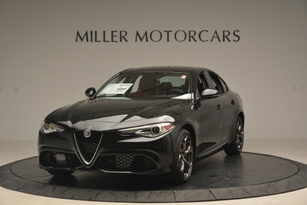 New 2018 Alfa Romeo Giulia Ti Sport Q4 for sale Sold at Rolls-Royce Motor Cars Greenwich in Greenwich CT 06830 1