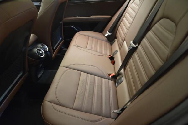 New 2018 Alfa Romeo Stelvio Ti Sport Q4 for sale Sold at Rolls-Royce Motor Cars Greenwich in Greenwich CT 06830 28