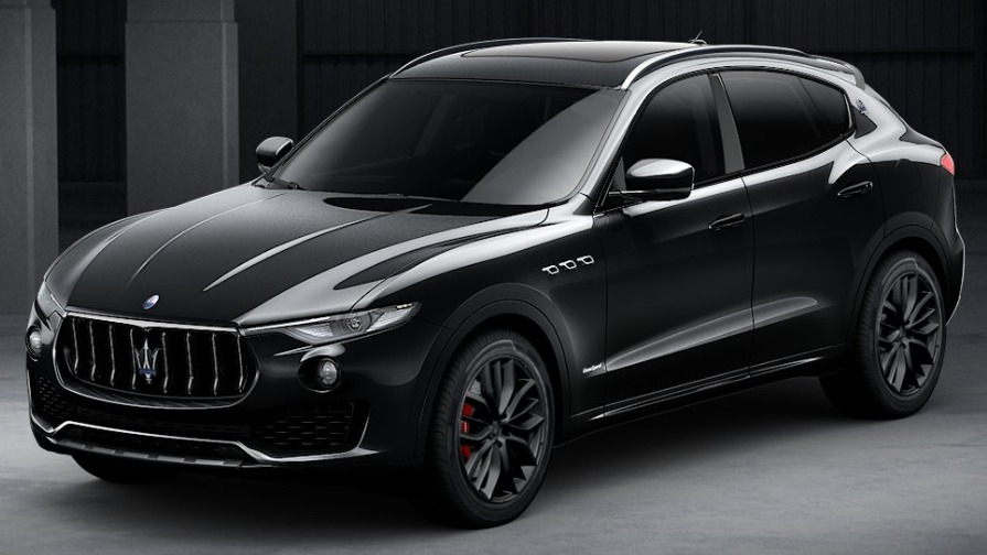 New 2018 Maserati Levante SQ4 GranSport Nerissimo for sale Sold at Rolls-Royce Motor Cars Greenwich in Greenwich CT 06830 1