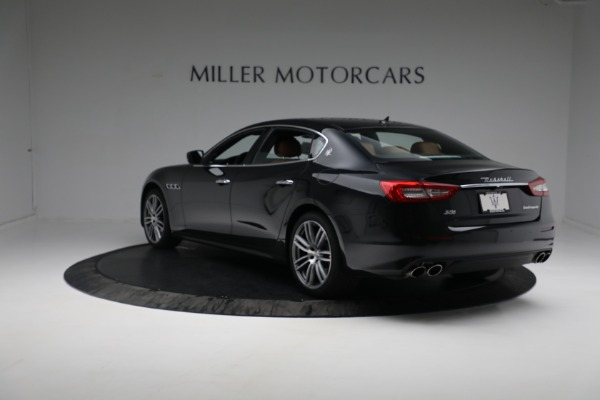 New 2018 Maserati Quattroporte S Q4 for sale Sold at Rolls-Royce Motor Cars Greenwich in Greenwich CT 06830 6