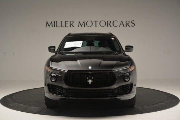 New 2018 Maserati Levante S Q4 GranSport Nerissimo for sale Sold at Rolls-Royce Motor Cars Greenwich in Greenwich CT 06830 12