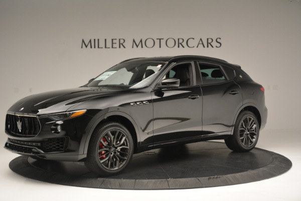 New 2018 Maserati Levante S Q4 GranSport Nerissimo for sale Sold at Rolls-Royce Motor Cars Greenwich in Greenwich CT 06830 2