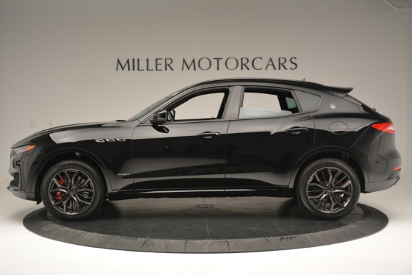New 2018 Maserati Levante S Q4 GranSport Nerissimo for sale Sold at Rolls-Royce Motor Cars Greenwich in Greenwich CT 06830 3