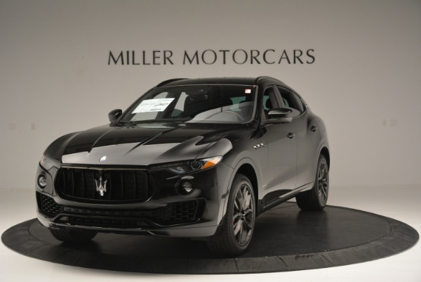 New 2018 Maserati Levante S Q4 GranSport Nerissimo for sale Sold at Rolls-Royce Motor Cars Greenwich in Greenwich CT 06830 1