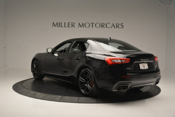 New 2018 Maserati Ghibli SQ4 GranSport Nerissimo for sale Sold at Rolls-Royce Motor Cars Greenwich in Greenwich CT 06830 5